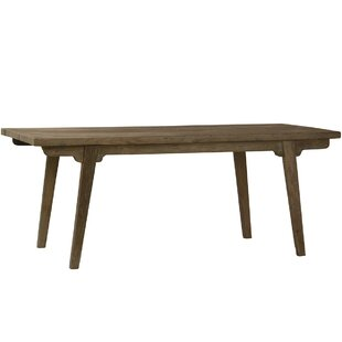 Union Rustic Ohman Solid Wood Dining Table