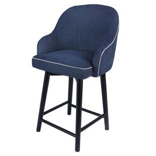 Coster 27 Swivel Bar Stool Brayden Studio