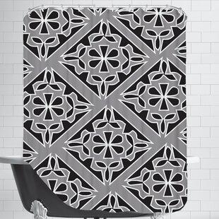 Gray Single Shower Curtain
