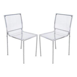 Almeda Side Chair (Set of 2) by LeisureMod