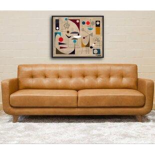 Geri Leather Sofa