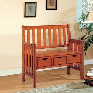 Swan Valley Wood Storage Bench