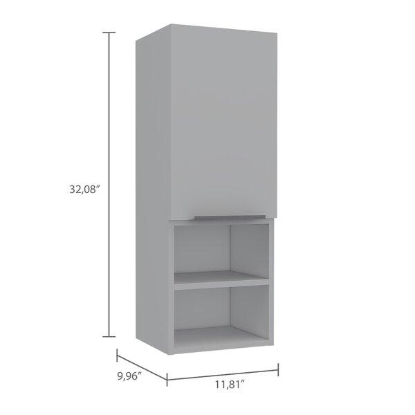 Ebern Designs Kowalsky 12 W X 32 H Wall Mounted Cabinet Reviews Wayfair