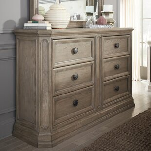 Thaxted 6 Drawer Double Dresser