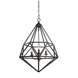 Caruso 3-Light Chandelier by Trule Teen