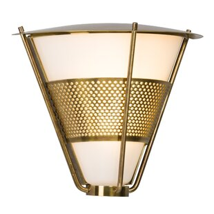 Affordable Clairville 1-Light Outdoor Flush Mount By Brayden Studio