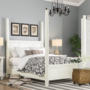 Best Reviews Parks Four Poster Bed by Birch Lane™ Heritage Reviews (2019) & Buyer's Guide