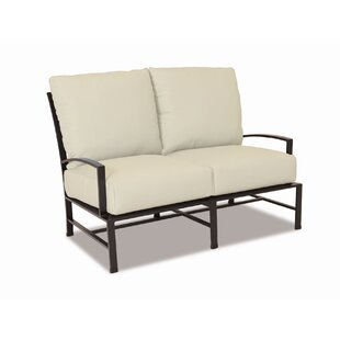 La Jolla Loveseat With Cushion by Sunset West Herry Up