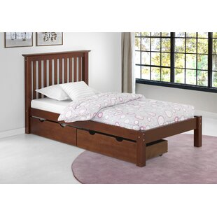 Beckmann Platform Bed with Storage Drawers by Harriet Bee