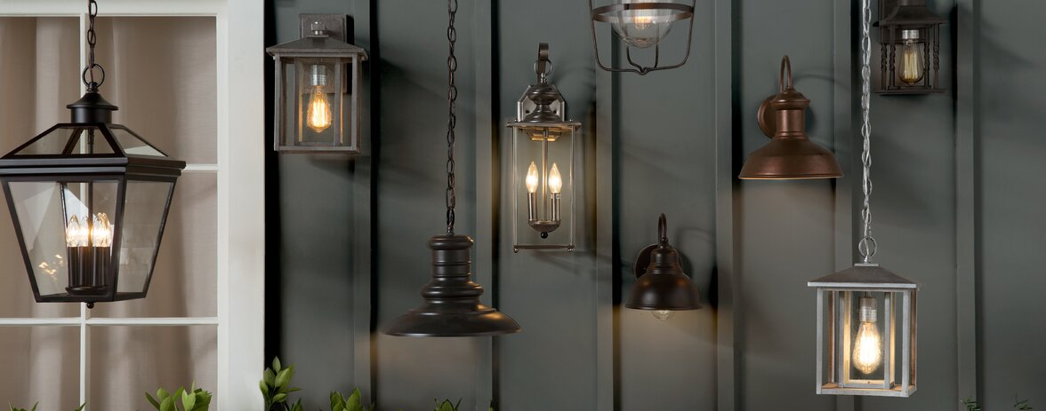 Glass Shade LED Wall Lamp Home Sconce Bar Porch Wall Decor Ceiling Lights