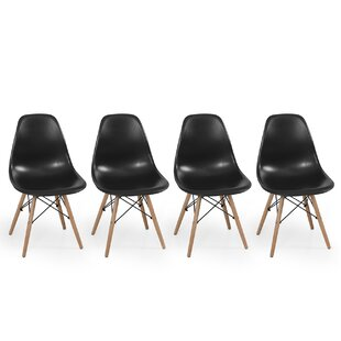 Dowel Side Chair (Set of 2) by Belleze