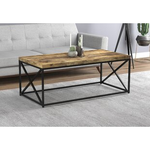 Knapp Coffee Table with Tray Top