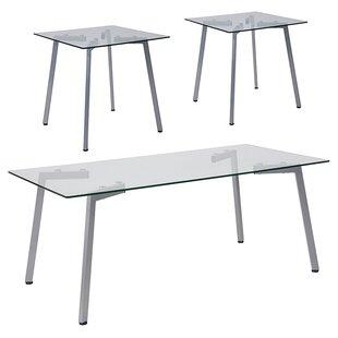 Ebern Designs Penn 3 Piece Coffee Table Set