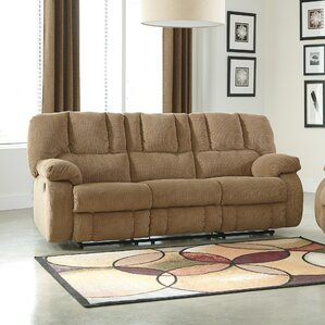 Roan Reclining Sofa by Signature Desig..
