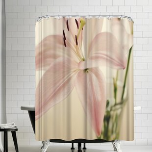 The Gingham Owl Delicate Bloom Shower Curtain