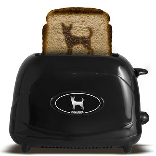 2 Slice Dog Chihuahua Toaster
