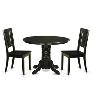 Shelton 3 Piece Dining Set Wooden Importers