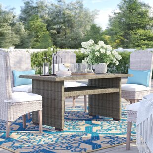 Maxima Wicker Dining Table