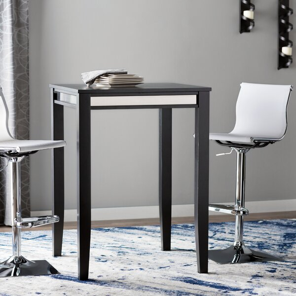 Square Coffee Table By Latitude Run: Latitude Run Henry Pub Table & Reviews