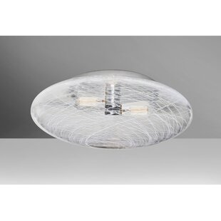 Docia 2-Light Semi Flush Mount..