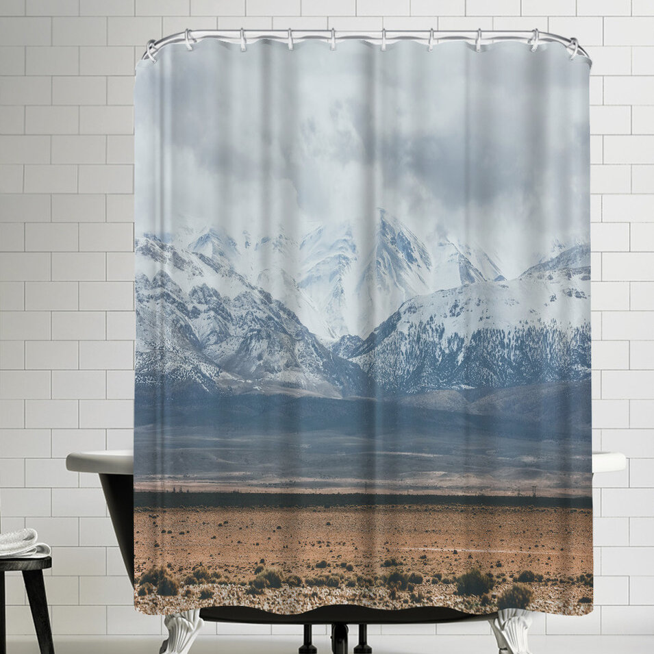 East Urban Home Luke Gram Atlas Mountains Morocco Shower Curtain