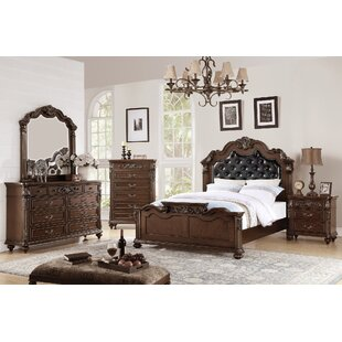 Andres Vilmos Upholstered Panel Configurable Bedroom Set by Astoria Grand