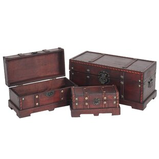 3-Piece  Chest Set By Marlow Home Co.