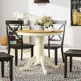 Dahlquist Solid Wood Dining Table by August Grove®