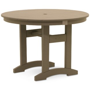 Paulsboro Plastic/Resin Dining Table by August Grove