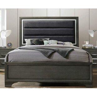 Ivy Bronx Gaven Upholstered Panel Bed