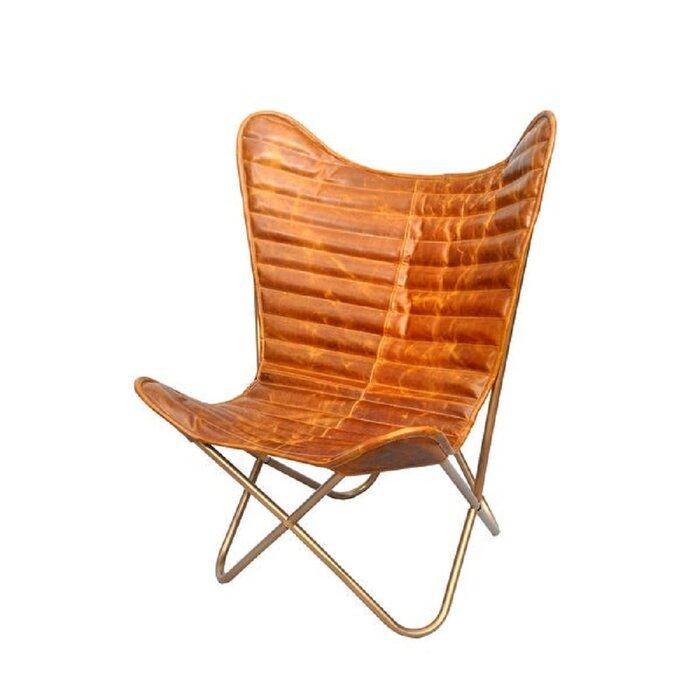 Oavia Nubuck Butterfly Chair