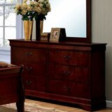 Shan 6 Drawer Double Dresser by Darby Home Co