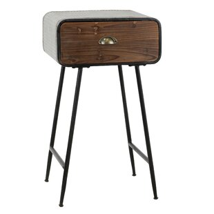 Best Reviews Vesely End Table with Drawer By Gracie Oaks