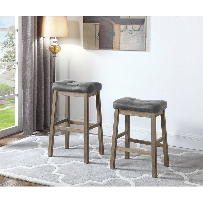 Gracie Oaks Mcgrath 25 Counter Height Bar Stool Wayfair