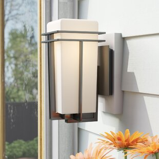 Compare Modena 1-Light Outdoor Sconce By Latitude Run