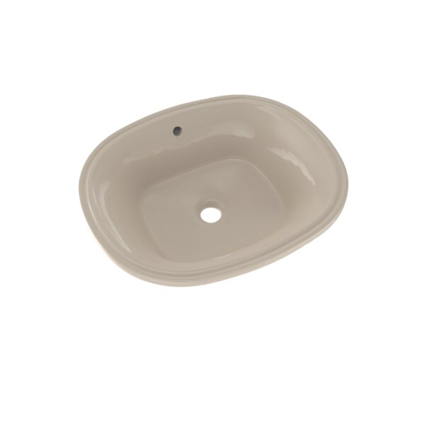 Toto Maris Vitreous China Oval Undermount Bathroom Sink With Overflow Perigold