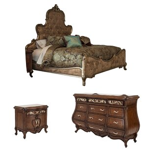 Platine De Royale Platform Configurable Bedroom Set