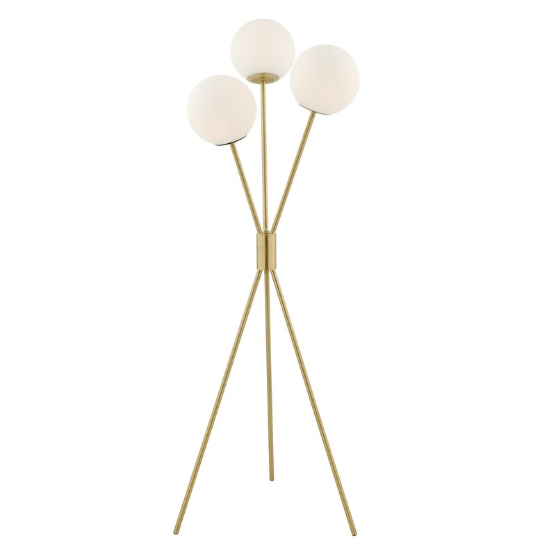 modern sputnik floor lamp