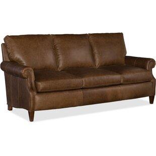 Rodney Leather Sofa. By Bradington Young