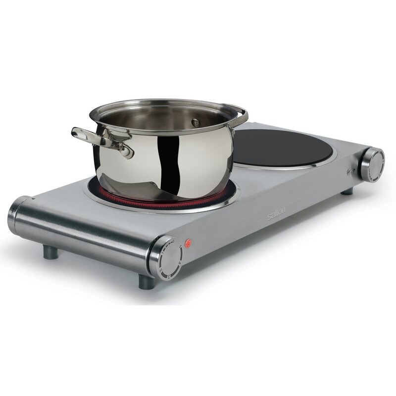 Salton Electric Double Hot Plate Reviews Wayfair