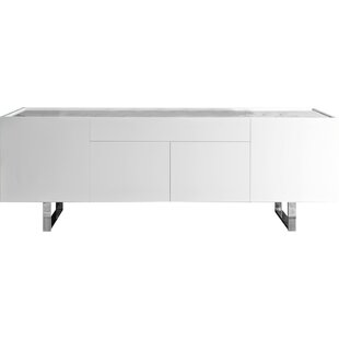 Horizon - 4 Door + Central Drawer Sideboard by Calligaris