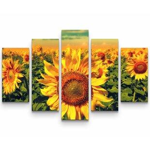 Sunflowers Wall Art You Ll Love Wayfair Co Uk