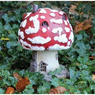 Haris Mushroom Toadstool Fairy House Solar Light Image