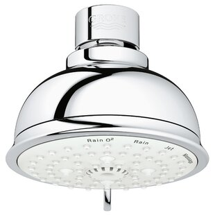 Best Reviews Tempesta Multi Function Adjustable Shower Head with SpeedClean Nozzles ByGrohe