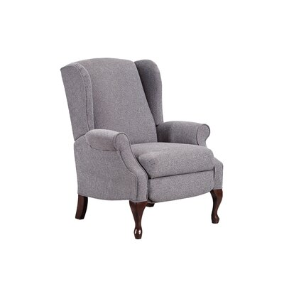 August Grove Manual Recliner Upholstery Color: Glenrock Mushroom by August Grove