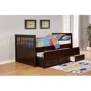 Reviews Watt Platform Bed with Trundle and Drawers by Harriet Bee Reviews (2019) & Buyer's Guide