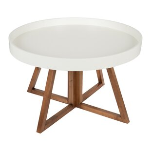 Affordable Clawson Round Coffee Table By George Oliver