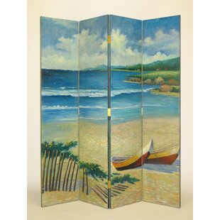 Rosecliff Heights Finch Cape Cod 4 Panel Room Divider