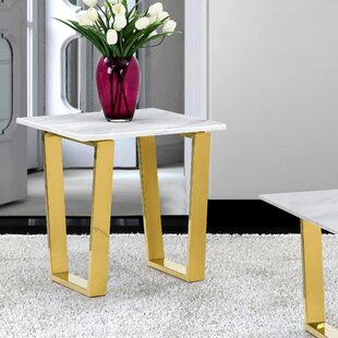 Review Germana End Table by Willa Arlo Interiors