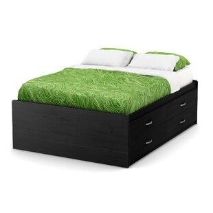 Compare prices Lazer Full Mate's & Captain's  Bed with Drawers by South Shore Reviews (2019) & Buyer's Guide